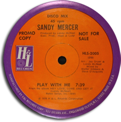 Sandy Mercer - Hey Love, Come And Get It!